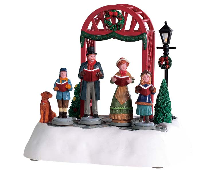 Lemax Village Collection Victorian Carols Battery Operated # 94528