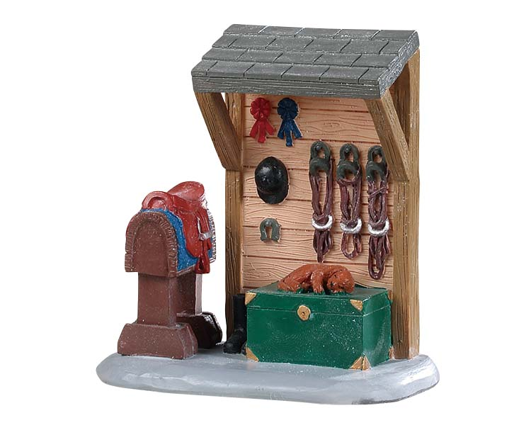Lemax Village Collection Horse Tack Station # 94549