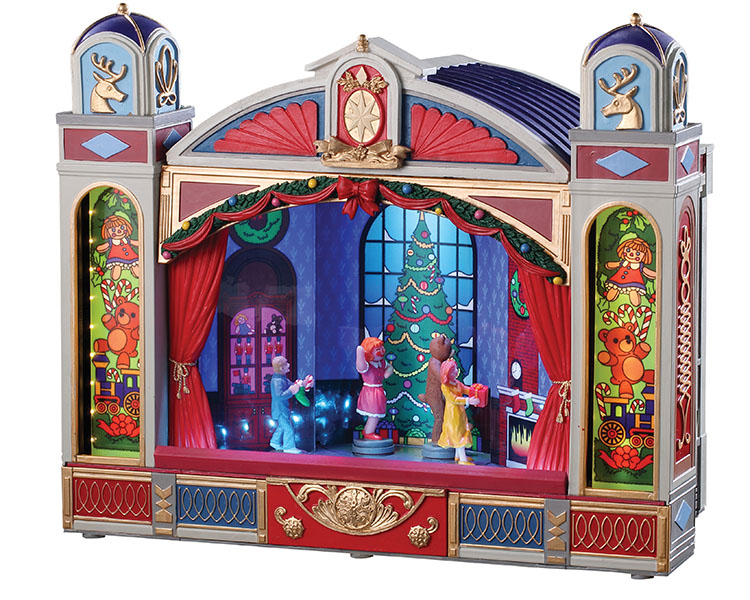 Lemax Village Collection Christmas Ballet with Adaptor # 95461