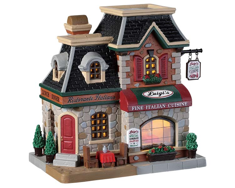 Lemax Village Collection Luigi's Ristorante Italiano # 95497