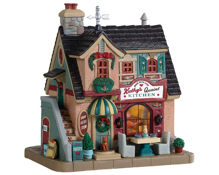 Lemax Village Collection Kathy's Quaint Kitchen # 95513