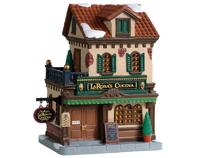Lemax Village Collection Larosa's Cucina # 95524