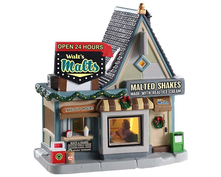 Lemax Village Collection Walt's Malts # 95533
