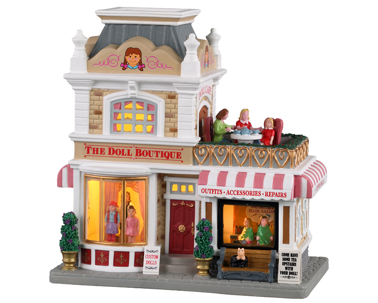 Lemax Village Collection The Doll Boutique # 95535