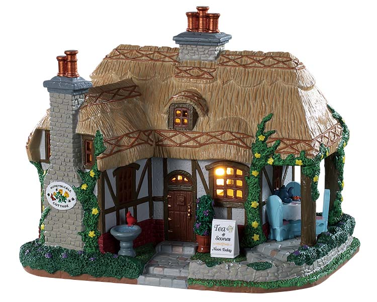 Lemax Village Collection Honeysuckle Cottage # 95536