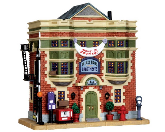 Deluxe Arms Apartments 35503 Lemax Village Ehobbytools