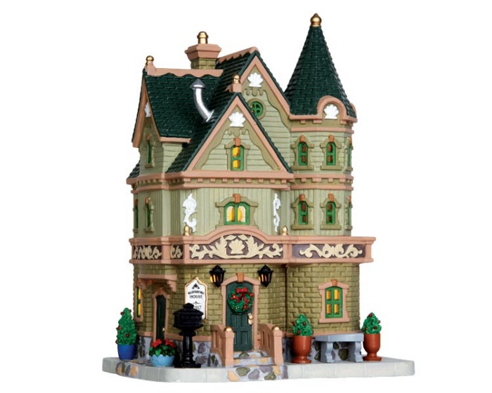 Weatherford House 35520 Lemax Village Ehobbytools
