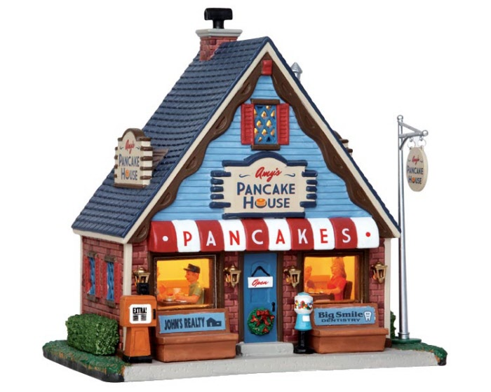 Amy S Pancake House 45743 Lemax Village Ehobbytools
