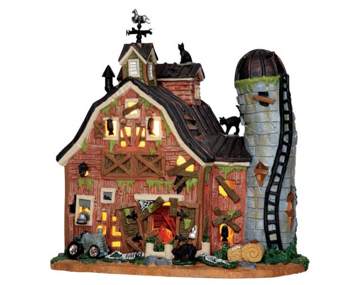 Dilapidated Barn 55916 Lemax Spooky Town Ehobbytools