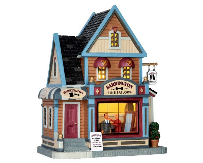 Barrington Fine Tailors 65125 Lemax Village Ehobbytools