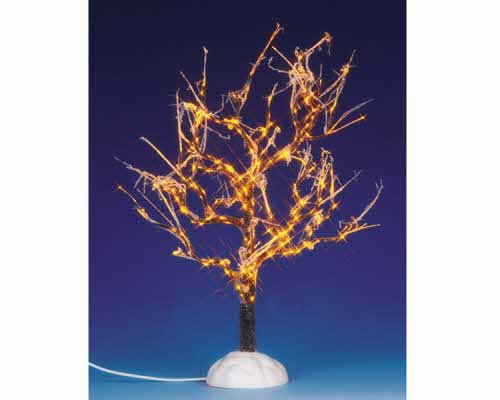 Lighted Ice Glazed Tree Clear 94994 Lemax Village