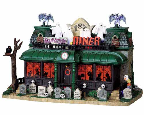 Graveside Diner 95805 Lemax Spooky Town Ehobbytools
