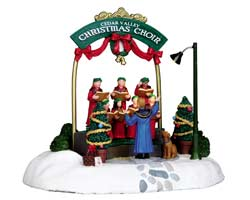 Lemax Village Collection Cedar Valley Christmas Choir # 04239