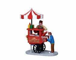 Lemax Village Collection Hot Dog Cart # 12932