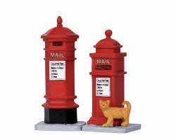 Lemax Village Collection Victorian Mailboxes Set of 2 # 14362