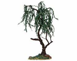 Lemax Village Collection Green Willow Large 9 inch# 14372
