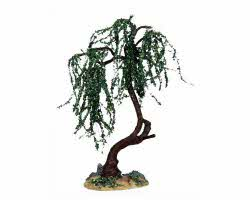 Lemax Village Collection Green Willow Medium 6 inch# 14373