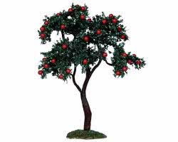 Lemax Village Collection Apple Tree B Large 9 inch # 14383