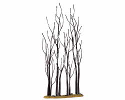 Lemax Village Collection Stand of Sycamore Trees 11 inch # 14614
