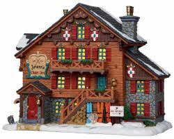 **NO OUTER BOX** Lemax Village Collection Johann's Chalet Inn # 15200 **READ DESCRIPTION**