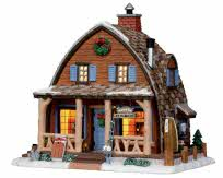 Lemax Village Collection Mallard Bay Cabin # 15216