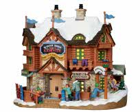 Lemax Village Collection Winter Ridge Ski Lodge # 15221