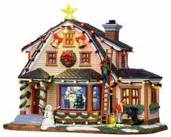 Lemax Village Collection Decorating The House With Adaptor # 15247