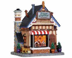 Lemax Village Collection Bridgette's Gingerbread Bakery # 15264