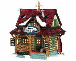 Lemax Village Collection Ron's Fish And Tackle # 15583