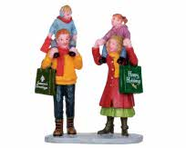 Lemax Village Collection Family Xmas Shopping # 22022