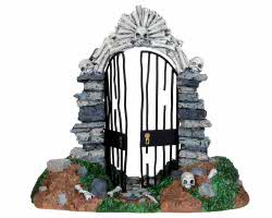 Lemax Spooky Town Skull Gate # 23942
