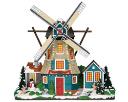 Lemax Village Collection Windmill Facade Battery Operated # 25333