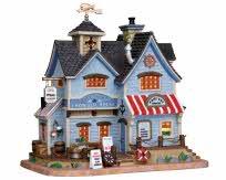 Lemax Village Collection Captain Jack's Chowder House # 25367