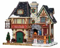 **NO OUTER BOX** Lemax Village Collection Twin Peaks Apres-Ski # 25368 **READ DESCRIPTION**
