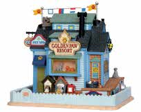 Lemax Village Collection Golden Paw Resort # 25395