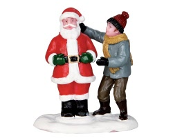 Lemax Village Collection Front Yard Santa # 32127