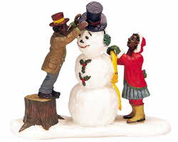 Lemax Village Collection Dressing Mr. Snowman # 32732