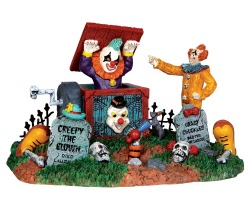 Lemax Spooky Town Jack In The Box # 33021