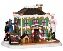 Lemax Village Collection Gingerbread Marvel # 33028