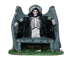 Lemax Spooky Town Reaper Bench # 34608