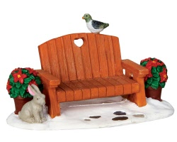 Lemax Village Collection Garden Bench # 34627