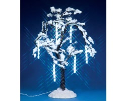 Lemax Village Collection Cascading Icicle Tree Battery Operated # 34642
