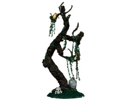 Lemax Spooky Town Tombstone Tree # 34650