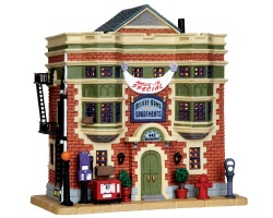 Lemax Village Collection Deluxe Arms Apartments # 35503
