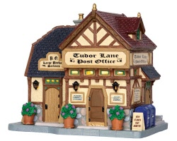 Lemax Village Collection Tudor Lane Post Office # 35519
