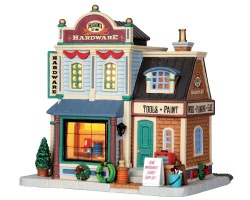 Lemax Village Collection Hudson's Hardware # 35521
