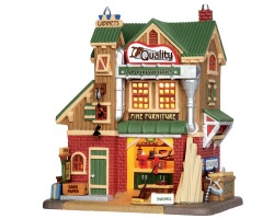 Lemax Village Collection Quality Woodworks # 35528