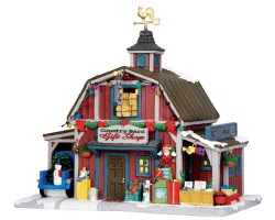 **NO OUTER BOX** Lemax Village Collection Country Barn Gift Shop # 35536 **READ DESCRIPTION**