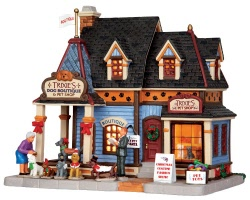 Lemax Village Collection Trixie's Dog Boutique and Pet Shop # 35538