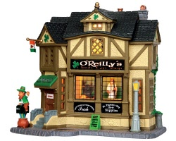 Lemax Village Collection O'Reilly's Irish Gift Shop # 35546